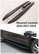 Для Maserati Levante 2016.2017.2018 Автомобиля Подножки Авто Подножка Бар Педали Высокое Качество Новый Nerf Бары