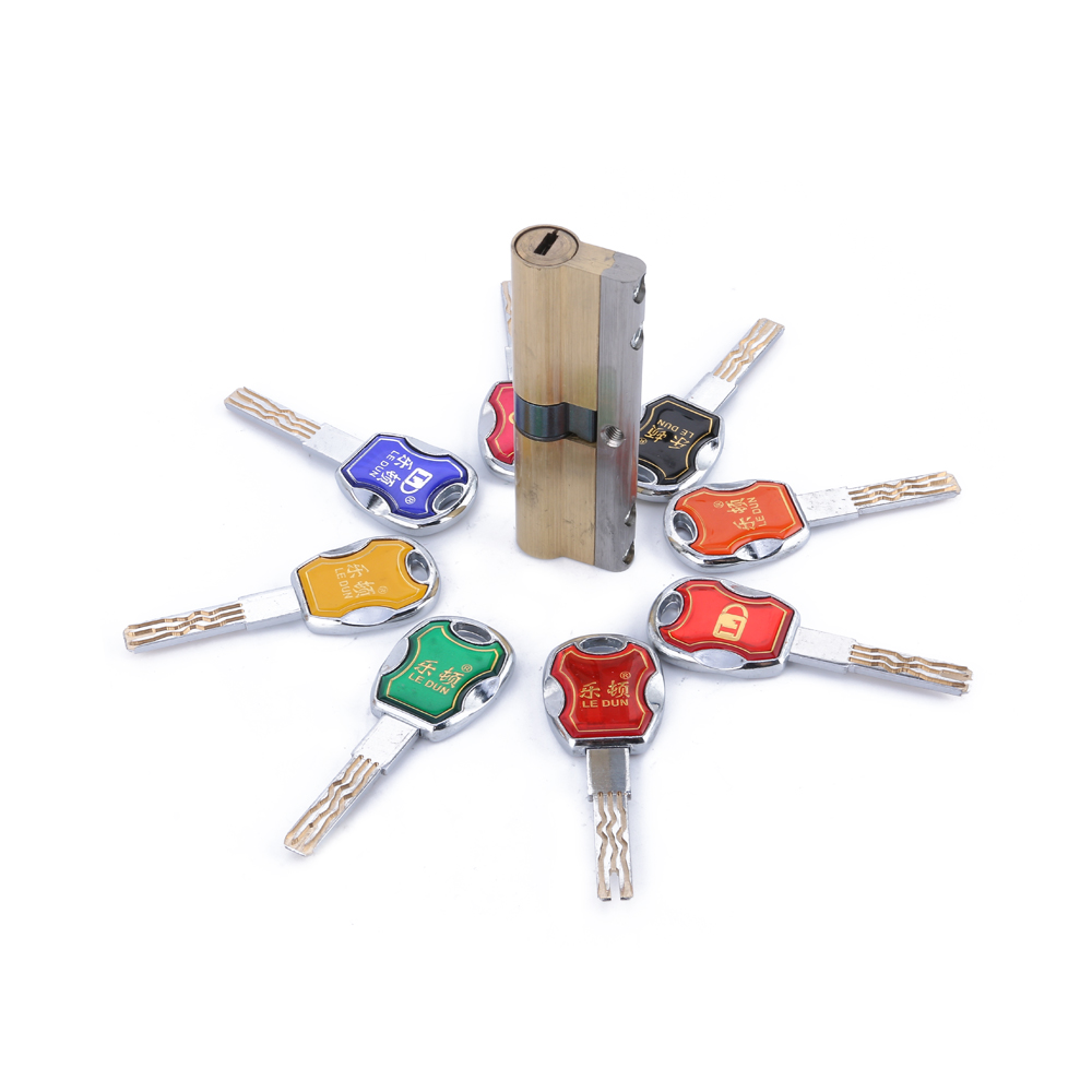 Hot!!!70-120MM Super B Type Six Orbit Lock Cylinder Prevent Torsion/Violence/Tinfoil, Steel Shell Anti-Theft Lock for Home Use 2017 new arrival goldatom double key bitting super c blade lock cylinder anti theft foil lock with super high quality