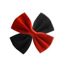 Детский галстук-бабочка очаровательный малыш мальчик классические галстуки-бабочка Свадебная вечеринка галстук бабочка для питомца Галстуки для смокинга красный черный белый галстук