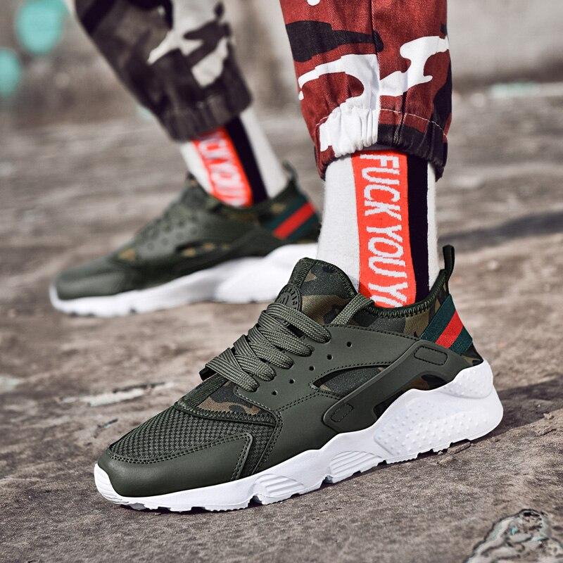 Sapatos de Caminhada Livre Homens Tênis Esportivos Leve