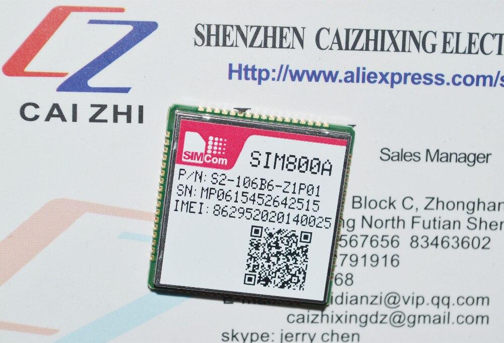 SIMCOM Newest original module GSM/GPRS SIM800A module pin to pin and can replace to SIM900A module with high performance
