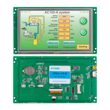 Stone 3.5 Industrial control application touch panel monitor used 1pcs control panel fr du04 m inverter industrial industrial use y