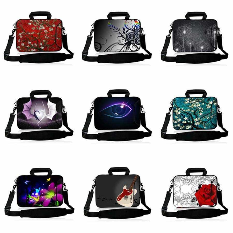 10.1 11.6 13.3 14.4 15.6 17.3 Laptop Notebook Bahu Pria Tas Wanita Tas Lengan untuk Macbook Air Pro Case SB-24450