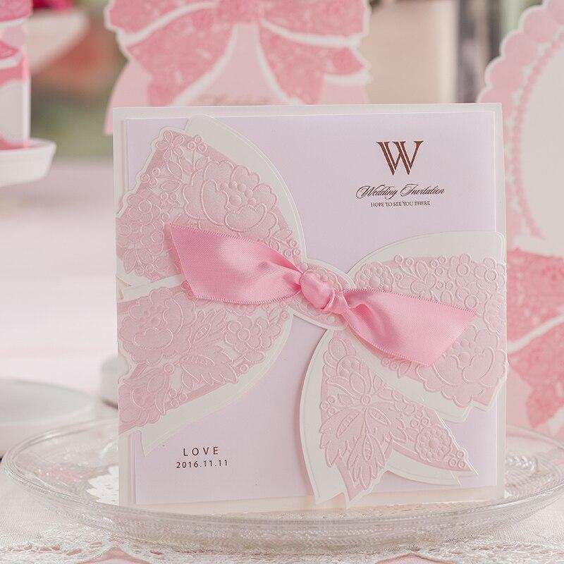 Us 49 99 Aliexpress Com Beli Laser Cut Floral Desain Undangan Pernikahan Kartu Dari Handal Card Design Pemasok Di Beefun Store