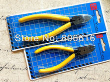 Plz choose (13CM or 15CM) Stainless Steel Diagonal Pliers Scissors Jewelry Making Tools For Jewelry Findings