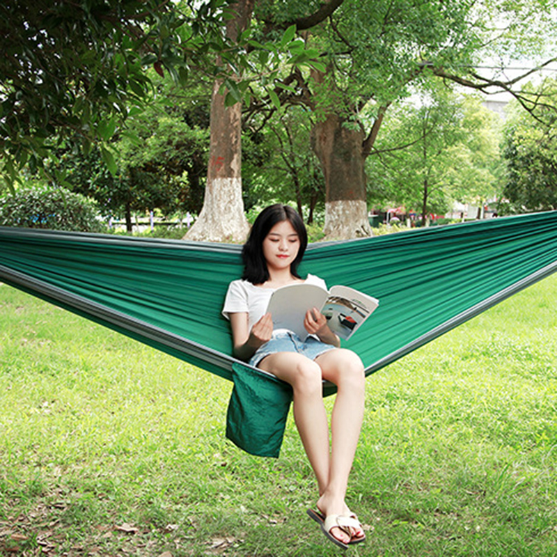 Amazing Hammock Portable Hammock Double Person Camping Survival garden hunting Leisure travel furniture Parachute Hammocks camping hiking travel kits garden leisure travel hammock portable parachute hammocks outdoor camping using reading sleeping