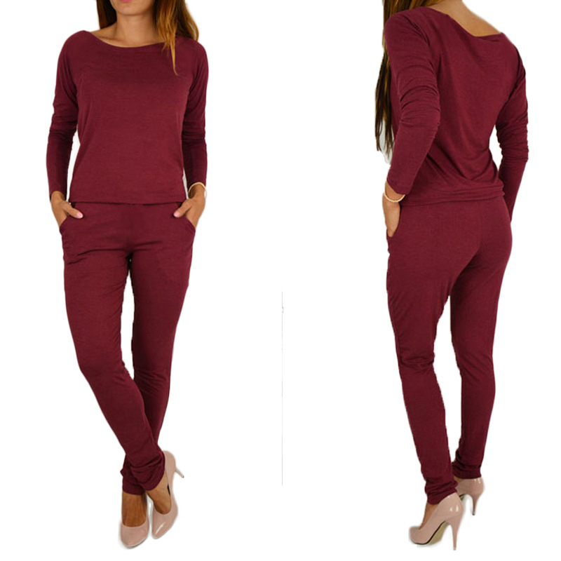 Autumn Female Body With Long Sleeves Overalls For Women Rompers   Jumpsuits   Combinaison Femme Sexy Bodysuits Bigsweety