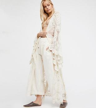 75c8f8691781 Vintage floral estampado faldas largas mujeres verano elegante playa maxi  falda Boho alta cintura ...