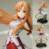 Sword art Online Figure Asuna Doll SAO Model Toys PVC 21cm with Color Box