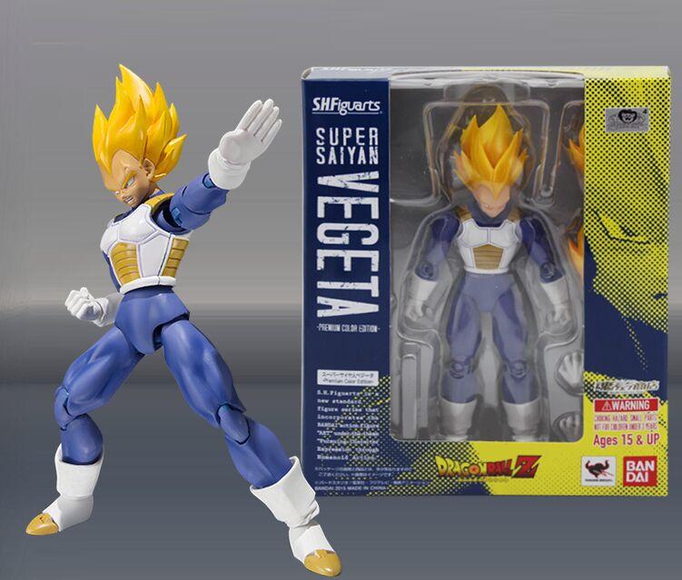 Vegeta oce premium anime Super Saiyan Dragon Ball Kai figura de acción modelo muñeca juguete regalo 1/12-in Figuras de juguete y acción from Juguetes y pasatiempos    1