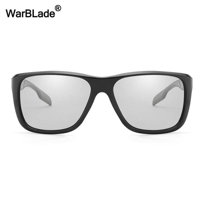 8c29aa1916b WarBLade New Fashion Photochromic Sunglasses Men HD Polarized Chameleon Sun  Glasses Glare Block Driving Discoloration Sunglasses-in Sunglasses from  Apparel ...
