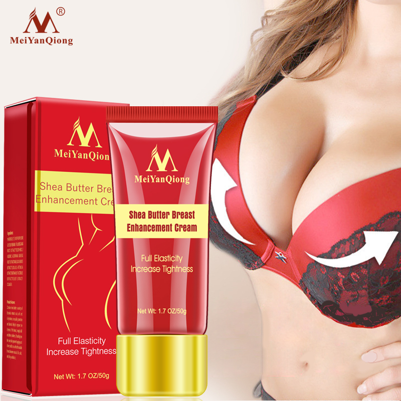 Meiyanqiong Shea Butter Breast Enhancer Enhances Chest Elasticity And Quickly Enhances Chest Bust Firming Skin Care Cream 50g