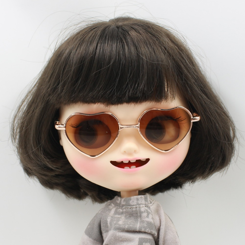 Neo Blythe Doll Heart Shaped Glasses 10