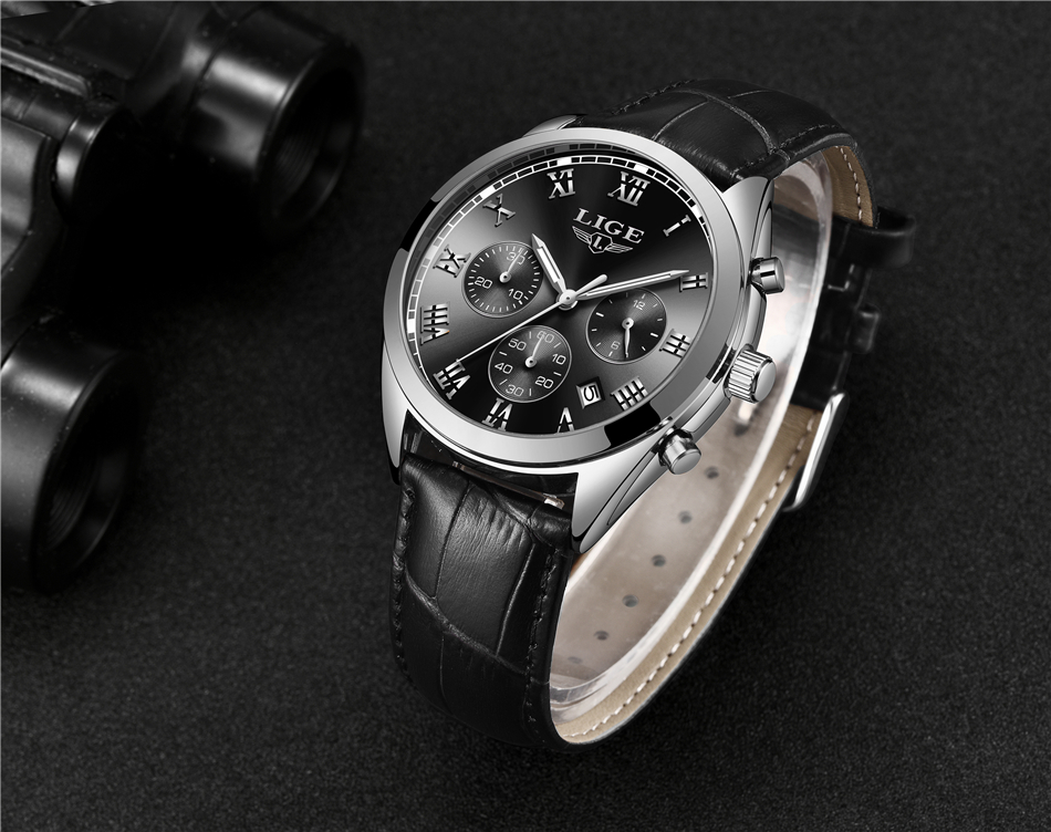 2020 LIGE Mens Watches Top Brand Luxury Waterproof 24 Hour Date Quartz Clock Male Leather Sport Wrist Watch Relogio Masculino HTB1bSYiwoR1BeNjy0Fmq6z0wVXaF