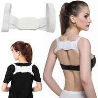 Hot New Adjustable Women Back Brace Back Posture Corrector Shoulder Support Brace Belt Body Health Care Sports Protective Bands