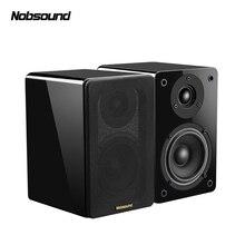 Nobsound NS-1800 дерево 60 Вт 1 пара 4 дюйма НЧ динамик книжная полка колонки 2,0 HiFi Колонка звук дома Профессиональный динамик