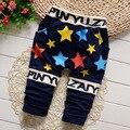 Горячие продажа Весна новый 0-3 лет детские брюки Хлопок высокого качества 5 звезды брюки для мальчиков девушки брюки