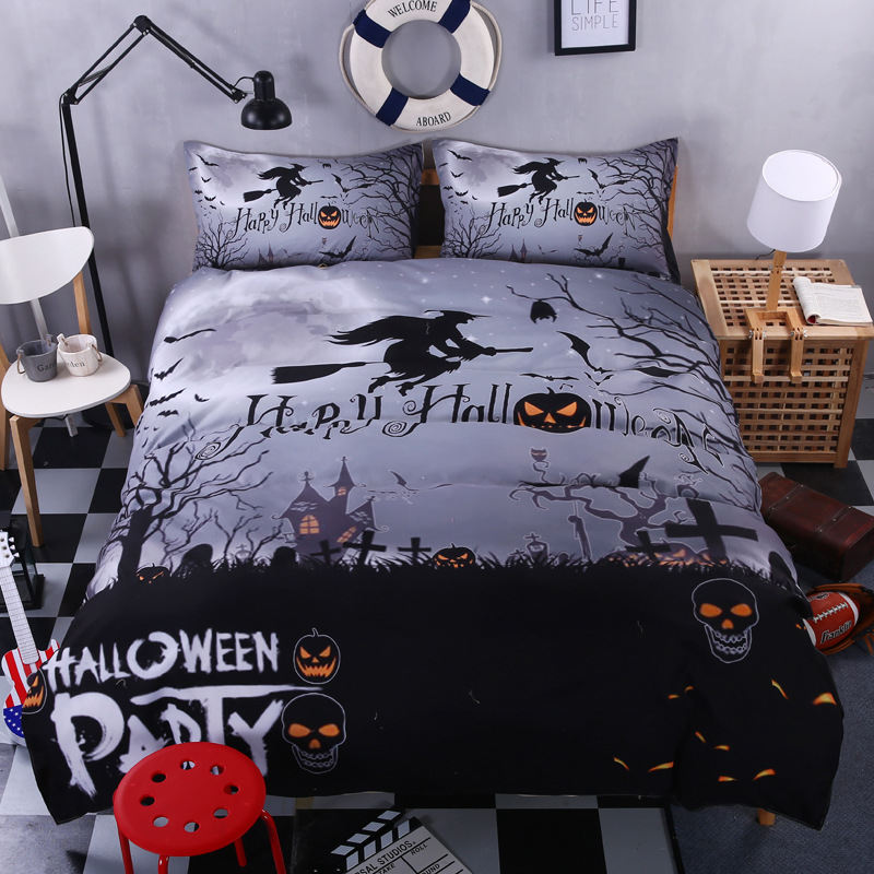 Death patterns boys bedding set Bedding Set christmas quilt ...