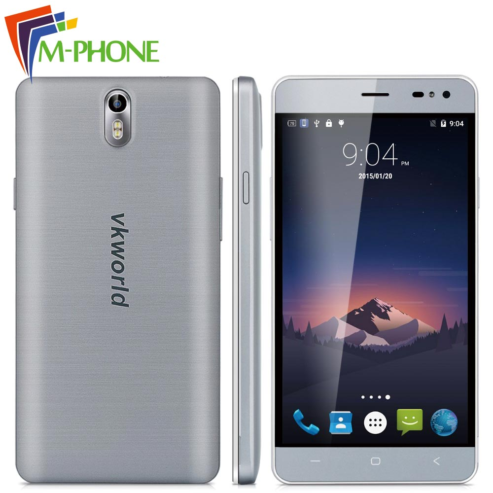 Original VKworld G1 Mobile Phone 5.5 inch 4G 5000mAh Android 5.1 MTK6753 Octa Core 3G RAM 16G ROM 13.0MP+8.0MP Camera Smartphone