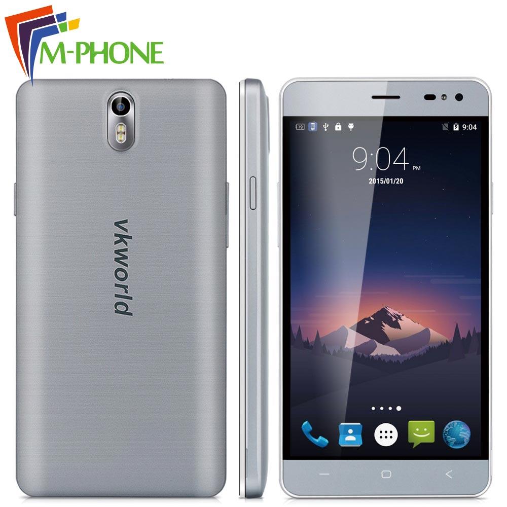 Original VKworld G1 Mobile Phone 5.5 inch 4G 5000mAh Android 5.1 MTK6753 Octa Core 3G RAM 16G ROM 13.0MP+8.0MP Camera Smartphone