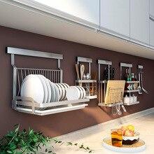 304 кухонная стойка из нержавеющей стали, многофункциональная настенная кухонная полка, сделай сам, крестообразная кухонная стойка, органайзер, инструменты