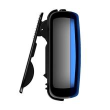 Yescool X1 8 ГБ Цифровой диктофон Диктофон HIFI без потерь Спортивный MP3 для бега с нарукавными зажимами