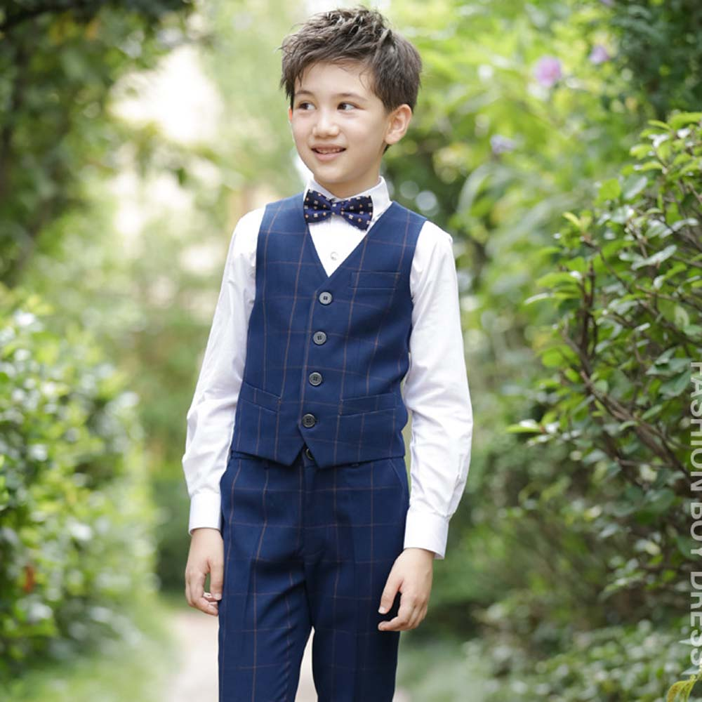 Boys Formal Blazer Suits for Weddings Vest+Pants+Blouse+Tie 4 pieces/set Kids Cute Costume for Party Children Blazer Set EB081Boys Formal Blazer Suits for Weddings Vest+Pants+Blouse+Tie 4 pieces/set Kids Cute Costume for Party Children Blazer Set EB081