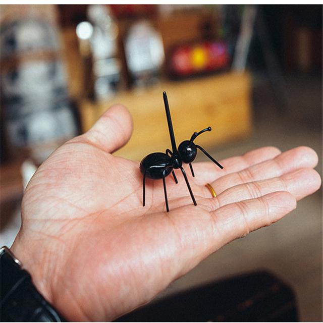 12Pc mini ant fruit fork plastic