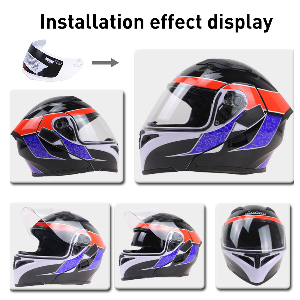 цена на Anti-scratch Full Face Shield UV Motorcycle Helmet For 316 902 AGV K5 K3SV Car Accessories Car Styling