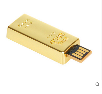 100pcs lot gold bars usb flash drive 4GB 8GB 16GB 32GB pen drive USB 2 0