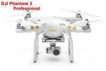 Original DJI Phantom 3 Professional Drone FPV RC Quadcopter with 4K Camera RC Helicopter Via EMS Free Shipping