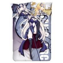 Fate/Apocrypha Jeanne d'Arc Saber Bedding Sets  Double Queen King Size Duvet Cover Bed Sheet Set Pillowcase Home Textiles игрушка аниме aquamarine xx fate apocrypha saber