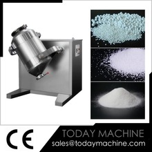 Industrial chemical cosmetic powder 3D mixer