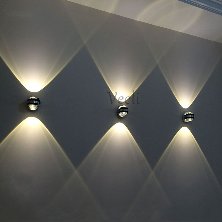 Up down lâmpada de parede led moderno