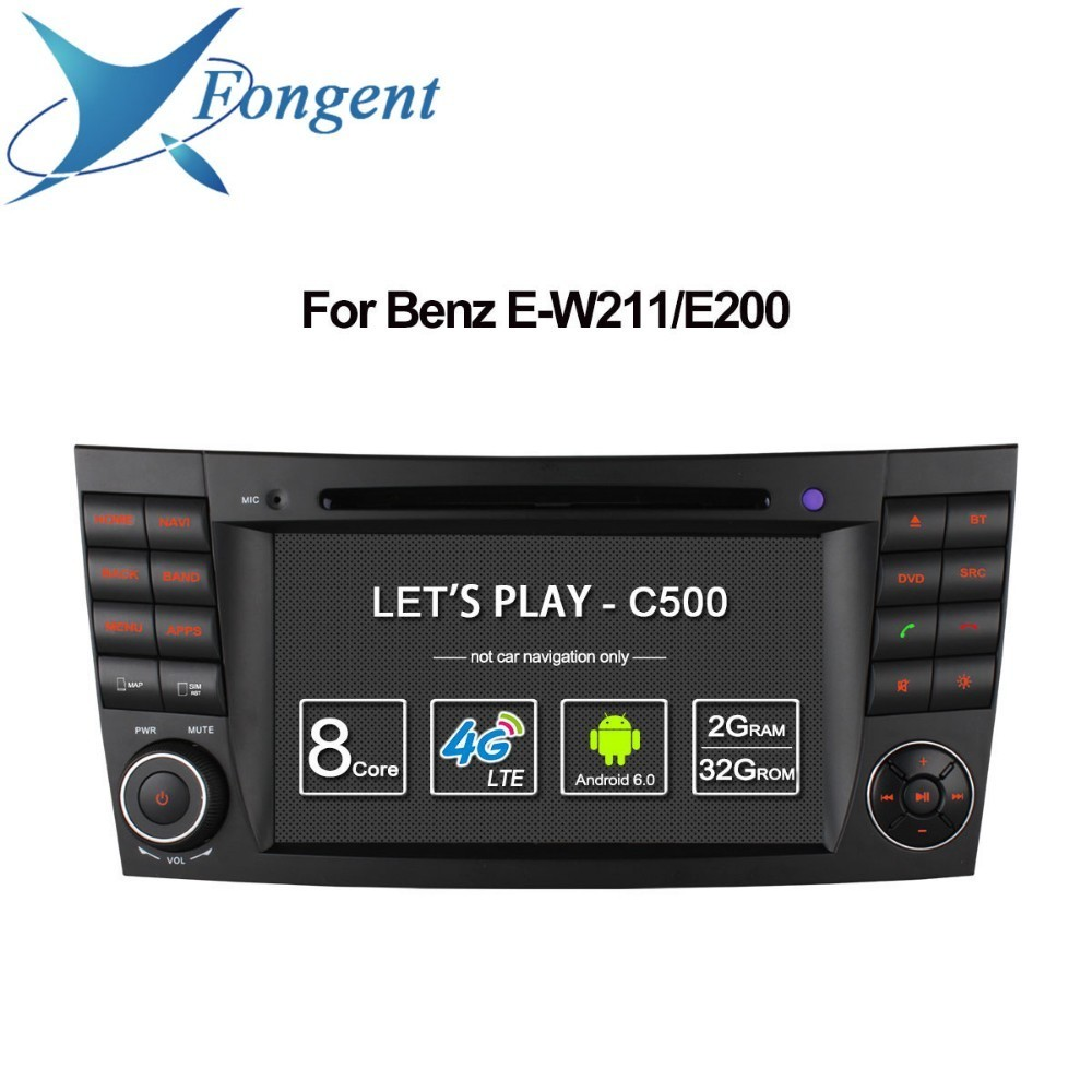 for Mercedes Benz E Class W211 W209 W219 MB Car Multimedia Player Android Unit Vehicle GPS Navigator 2 din DVD Auto Radio Stereo