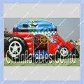 Casa do Salto inflável Dragster Carro Esporte para Crianças/Carros Salto Inflável Castelo