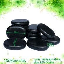 wholesale 100pieces 6x8cm beauty energy hot stone