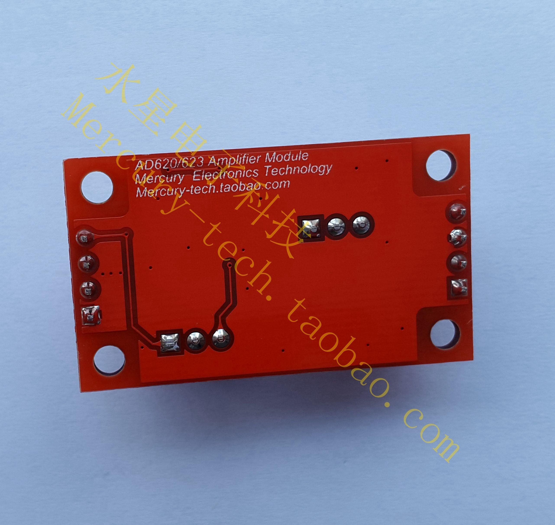 Mv Microvolt Signalverstrker Spannung Verstrker Ad623 Ad620 Lm358 100 Gain Signal Amplification Module Operational Amplifier Dc5 Instrumentenverstrker Modul In