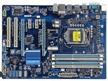 Материнская плата Gigabyte GA-Z77P-D3 LGA 1155 DDR3 Z77P-D3 доски HDMI USB2.0 USB3.0 32 Гб Z77 настольная материнская плата бесплатная доставка