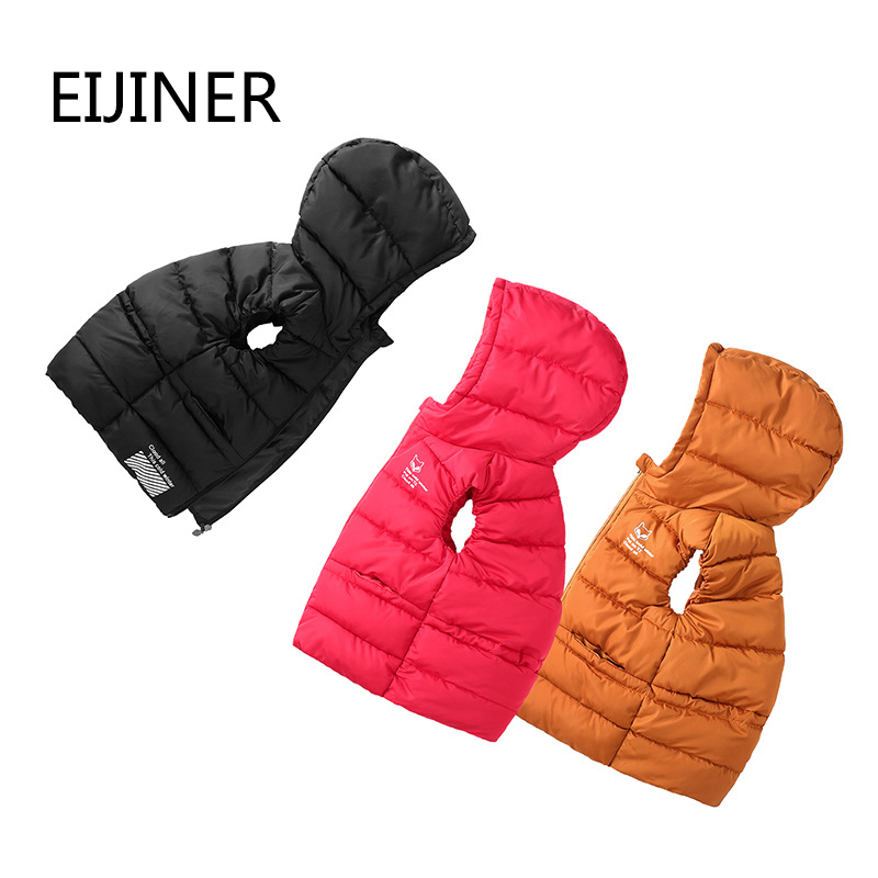 Children Outerwear Winter Coats Child Waistcoat Kids Clothes Warm Hooded Cotton Baby Boys Girls Vest For Age 3-10 Years Old
