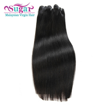 7A Sugar Hair Malaysian Straight Hair 2Bundle Deals Malaysian Virgin Hair Straight 1B Malaysian Wet Wavy Hair Weave Bundles