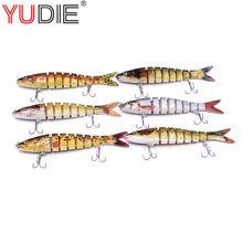 1Pcs 3D Eyes Artificial Grass Crap Hard Minnow Lure 13cm 19g Wobblers Bait For Fishing Accessories Hooks Tool Fish Sport lures