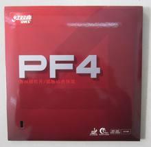 Originale dhs pf4 ping pong di gomma dhs table tennis racket racquet sports semplice hurricane 3 per la formazione