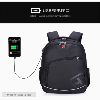 laptop backpack swiss usb anti theft 17 inch computer bag men backpack multifunctional Boy Backpack Male Backpack Female Bag