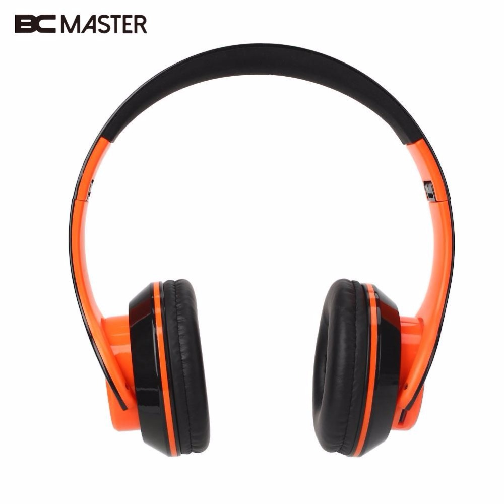 BCMaster fashion wireless bluetooth headphones earphone headset support FM Radio TF Card LED light wireless bluetooth headset neckband stereo headphone support fm radio tf card microphone sport earphone for smartphone xiaomi