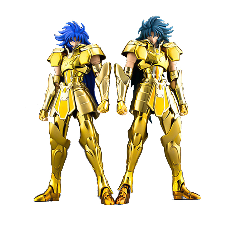 S-Temple MetalClub Saint Cloth Myth EX Gemini SaGa Kanon Ver Saint Seiya metal armor Myth Cloth God Action Figure Collection Toy anime action figure saint seiya myth cloth nordic god fighter alkaid red meem metal armor collectible model