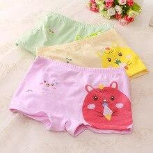 3pcs Baby girls girl underwear cartoon cotton childrens boxer boys boxers shorts teen panties