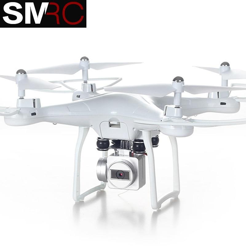 SMRC S10 2.4G 4-AXE quadrirotor à télécommande drone avec caméra HD rc dron cam FPV wifi professionnel hélicoptère facile jouer jouet