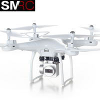 SMRC S10 2.4G 4 AXIS remote control quadcopter drone with HD camera rc dron cam FPV wifi professional helicopter easy play toy