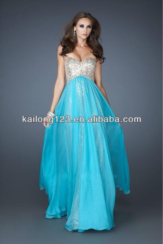 7a06d7346 Vestidos largos color azul agua - Vestidos elegantes